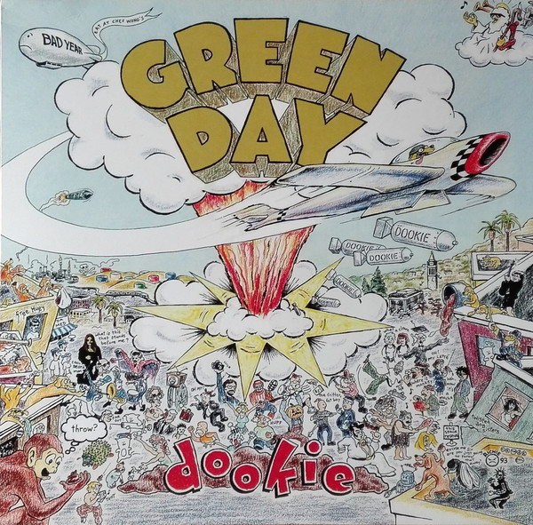 Green Day - Dookie LP+Libro