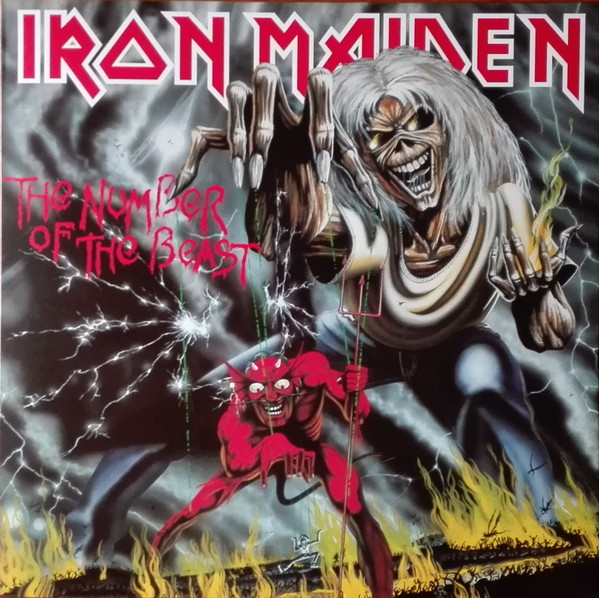 Iron Maiden – The Number Of The Beast LP+LIBRO