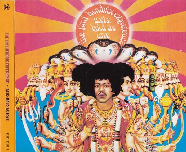 The Jimi Hendrix Experience - Axis: Bold As Love CD+DVD