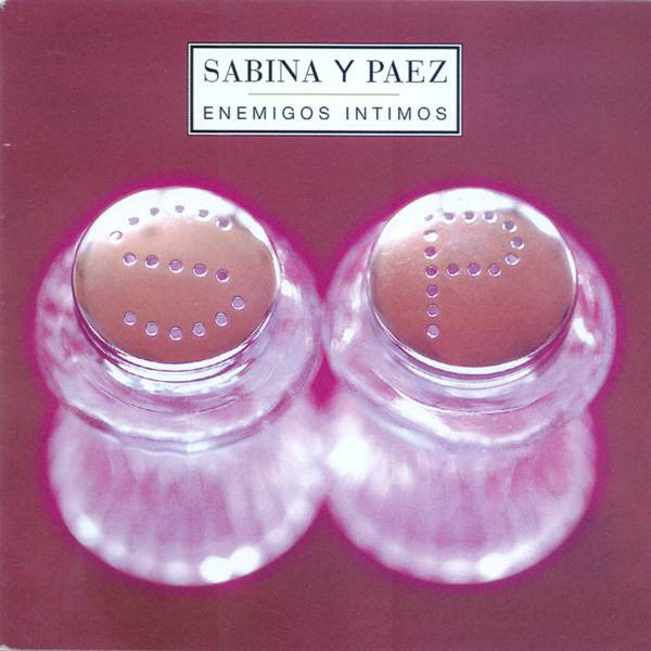 Sabina Y Paez - Enemigos Intimos CD