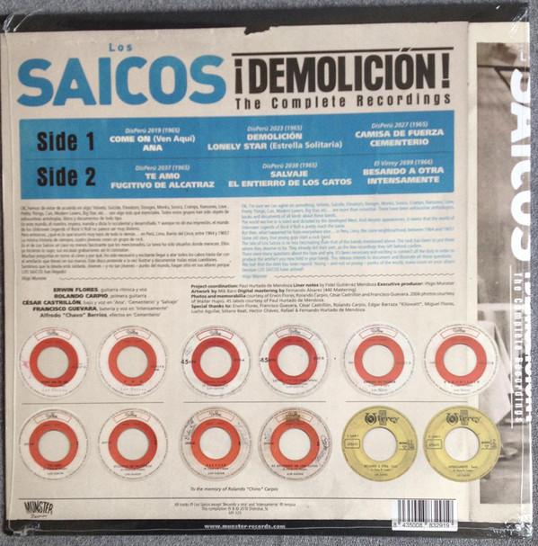 Los Saicos – ¡Demolición! The Complete Recordings LP