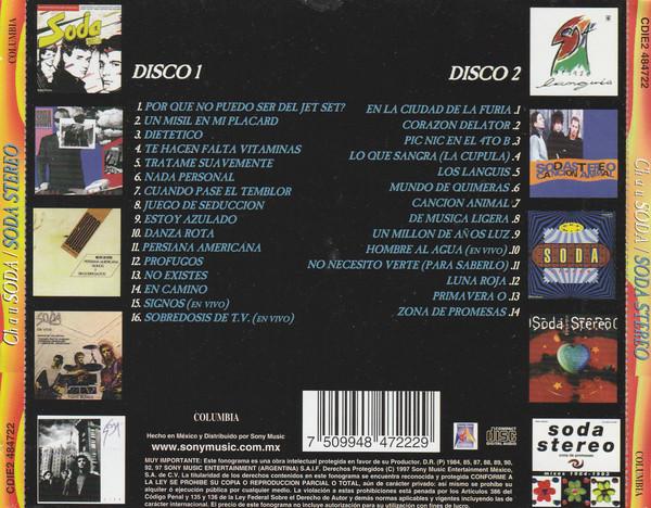 Soda Stereo - Chau Soda 2CDs
