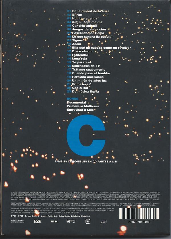Soda Stereo - El Último Concierto DVD