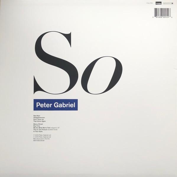 Peter Gabriel – So LP