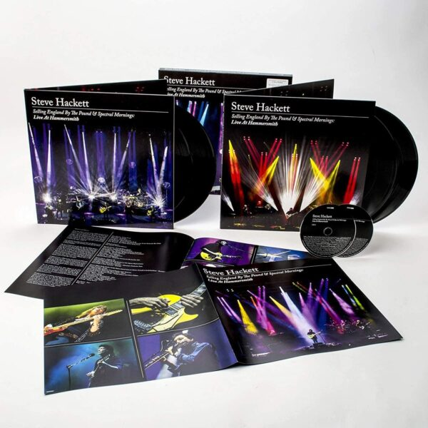 Steve Hackett – Selling England By The Pound & Spectral Mornings: Live At Hammersmith BOX SET