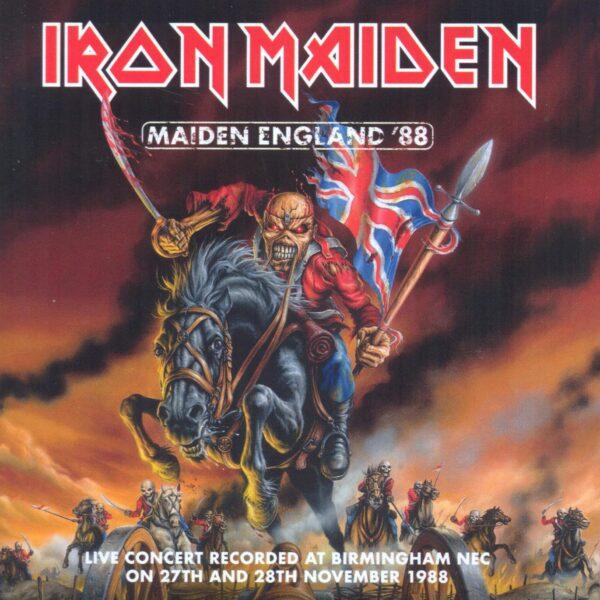 Iron Maiden – Maiden England '88 2 CDS