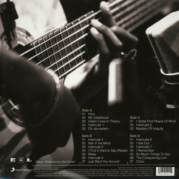 Lauryn Hill - MTV Unplugged No. 2.0 2LPs