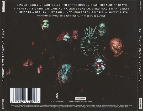 Slipknot – We Are Not Your Kind CD