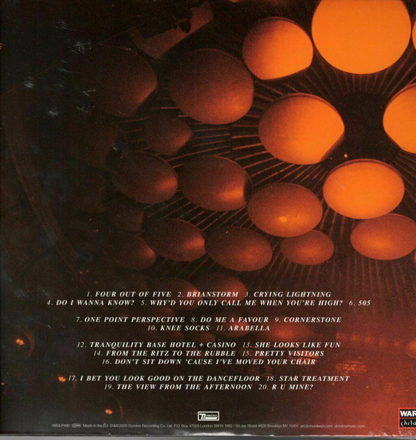 Arctic Monkeys - Live At The Royal Albert Hall 2LPs