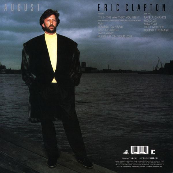 Eric Clapton - August LP