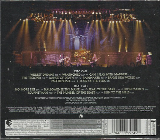 Iron Maiden – Death On The Road 2 CDS