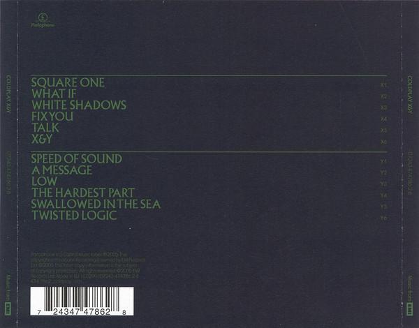 Coldplay – X&Y CD