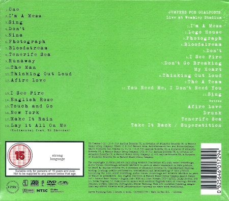 Ed Sheeran – X (Wembley Edition) CD+DVD