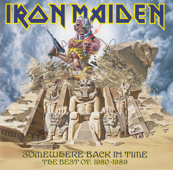 Iron Maiden – Somewhere Back In Time - The Best Of: 1980-1989 CD