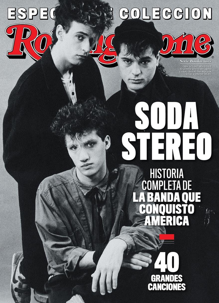 Revista Soda Stereo Rolling Stone