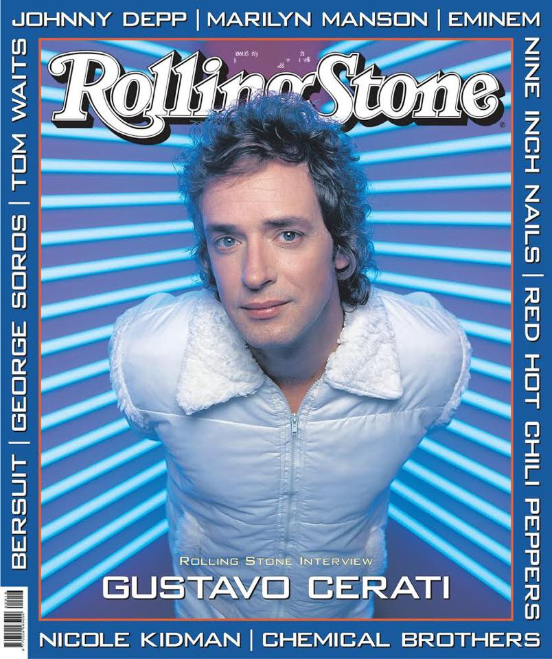 Revista Cerati Julio 1999 Rolling Stone