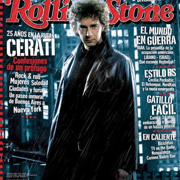 Revista 25 años en la ruta Cerati Rolling Stone