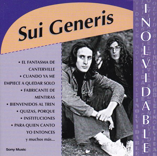Sui Generis - Inolvidable CD