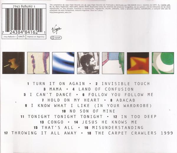 Genesis - Turn it on again (The Hits) CD