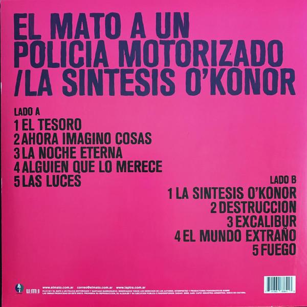 El Mató a un Policía Motorizado - La Síntesis O'Konor LP Rosa