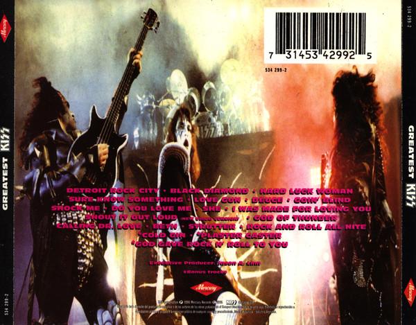 Kiss - Greatest Kiss CD