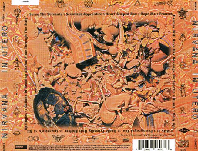Nirvana - In Utero CD