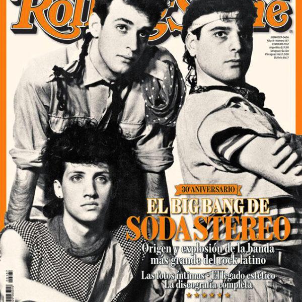 Revista 30 Aniversario El Big Bang de Soda Stereo Rolling Stone