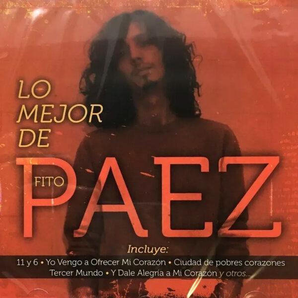 Fito Páez - Lo mejor de Fito Páez CD