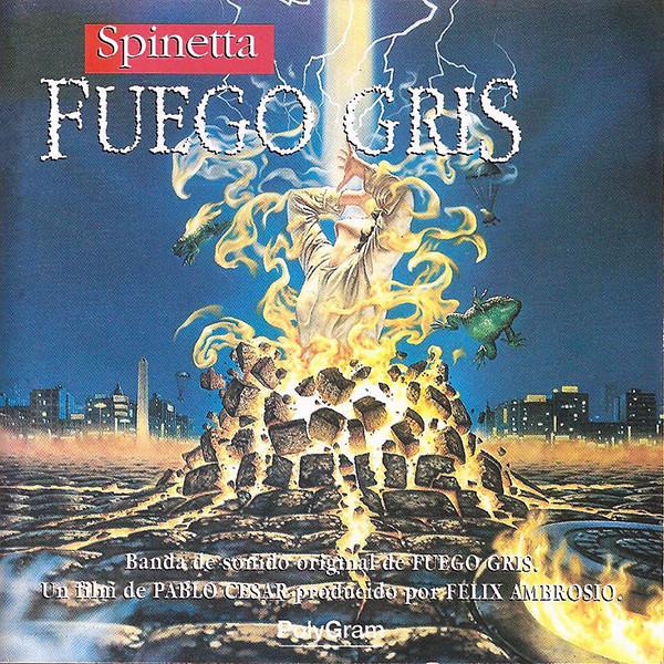 Luis Alberto Spinetta - Fuego Gris LP