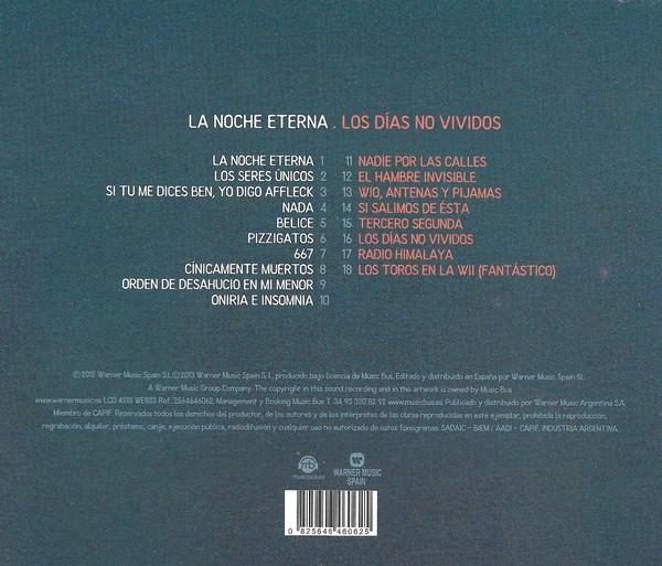 Love Of Lesbian – La Noche Eterna / Los Días No Vividos CD