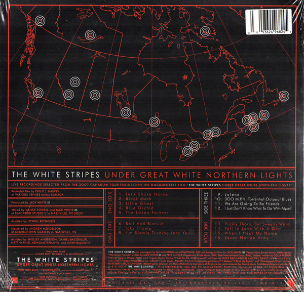 The White Stripes - Under Great White Northern Lights 2LPs
