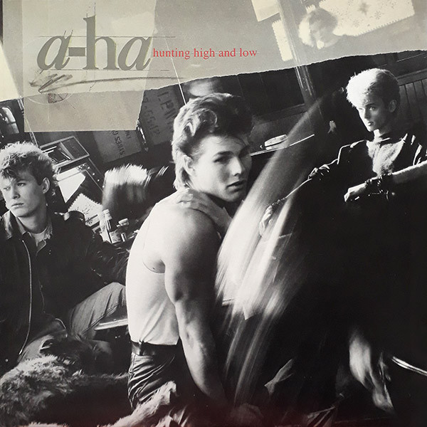 a-ha - Hunting High And Low LP+Libro