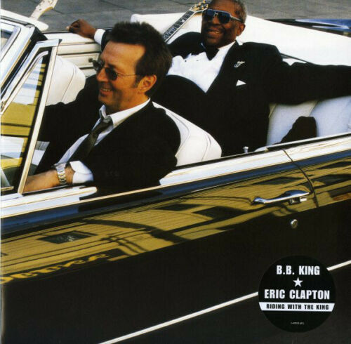 B.B. King & Eric Clapton - Riding With The King LP