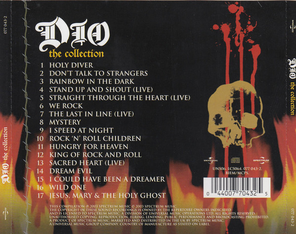 Dio - The Collection CD