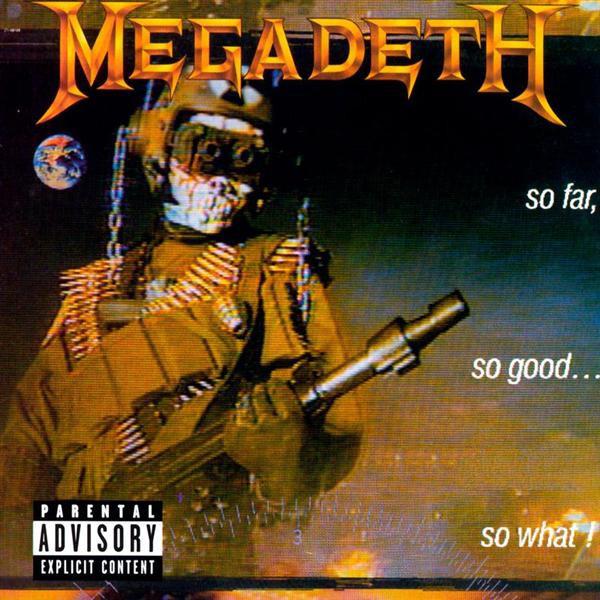 Megadeth - So Far, So Good... So What! CD