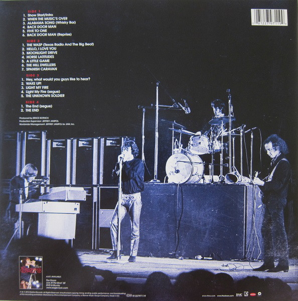 The Doors - Live At The Bowl '68 2LPs
