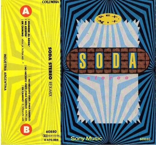 Soda Stereo - Rex Mix CASSETTE
