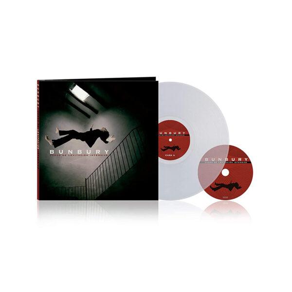 Bunbury - Curso de Levitación Intensivo LP Transparente + CD