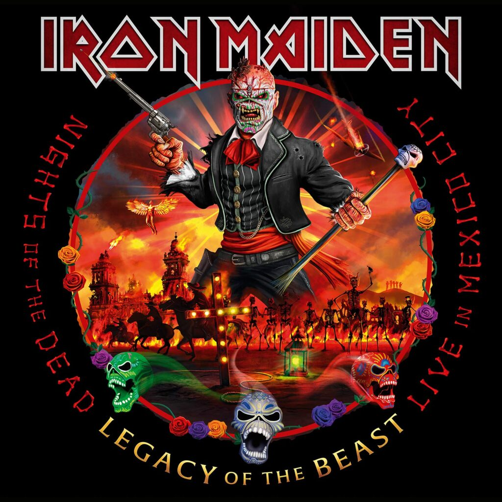 Iron Maiden - Nights Of The Dead, Legacy Of The Beast: Live In Mexico City 3LPs