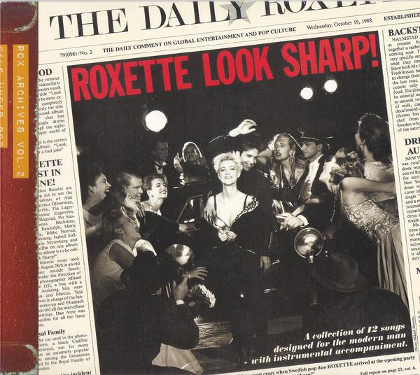 Roxette - Look Sharp! CD Vol. 2