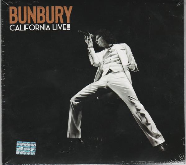 Bunbury - California Live!!! CD