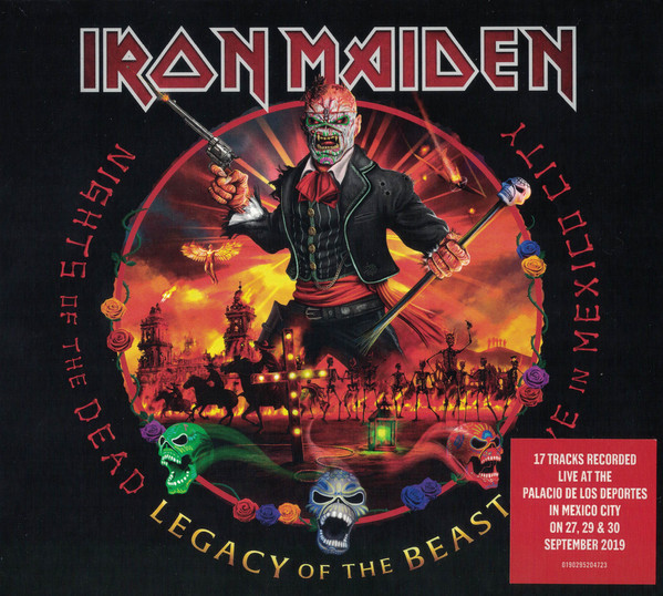 Iron Maiden – Nights Of The Dead, Legacy Of The Beast: Live In Mexico City 2 CDS