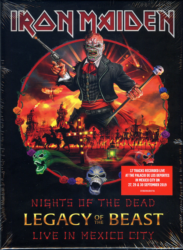 Iron Maiden – Nights Of The Dead, Legacy Of The Beast: Live In Mexico City 2 CDS DELUXE