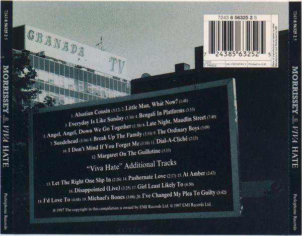 Morrissey - Viva Hate CD '97