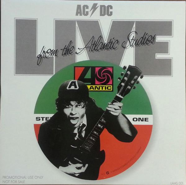 AC/DC - Live From The Atlantic Studios LP Bootleg