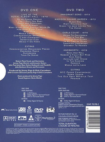 Led Zeppelin - 2DVDs