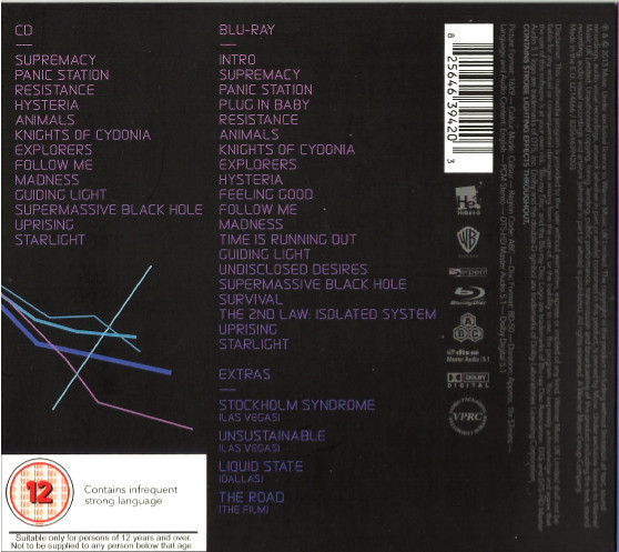 Muse - Live At Rome Olympic Stadium 1CD+1Bluray