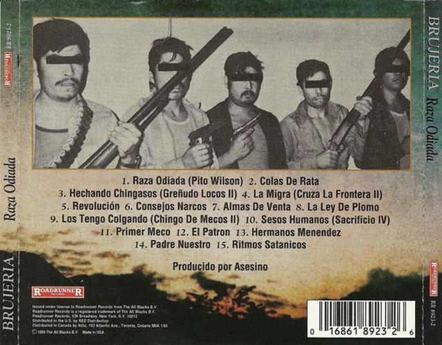 Brujeria - Raza Odiada CD