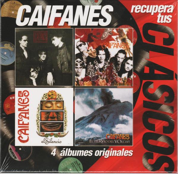 Caifanes - 4 Álbumes originales en CD