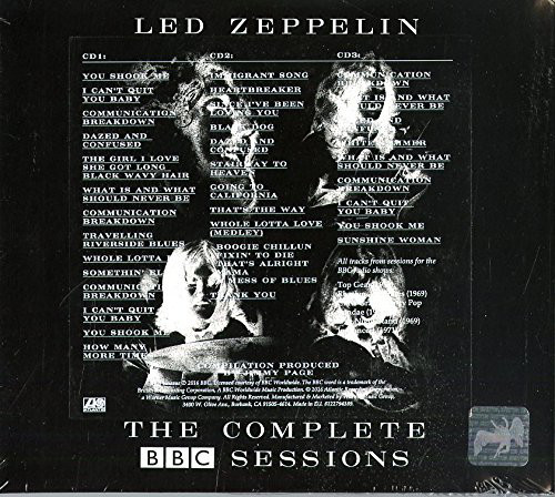 Led Zeppelin – The Complete BBC Sessions 3 CDS